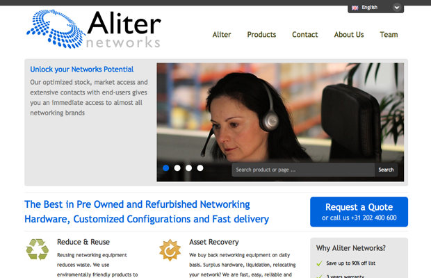 Aliter Networks screenshot 1