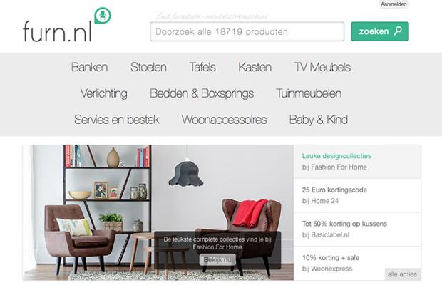 Furn.nl screenshot 1